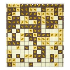 Autumn Leaves Pattern Shower Curtain 66  X 72  (large)