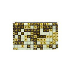 Autumn Leaves Pattern Cosmetic Bag (small)