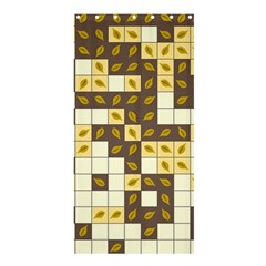 Autumn Leaves Pattern Shower Curtain 36  X 72  (stall)