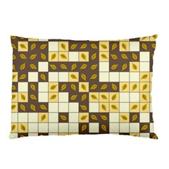 Autumn Leaves Pattern Pillow Case (two Sides)