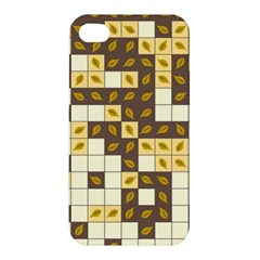 Autumn Leaves Pattern Apple Iphone 4/4s Hardshell Case