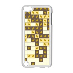 Autumn Leaves Pattern Apple Ipod Touch 5 Case (white)