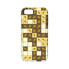 Autumn Leaves Pattern Apple Iphone 5 Classic Hardshell Case (pc+silicone)