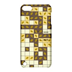 Autumn Leaves Pattern Apple Ipod Touch 5 Hardshell Case With Stand