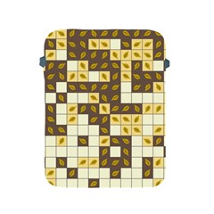 Autumn Leaves Pattern Apple Ipad 2/3/4 Protective Soft Cases