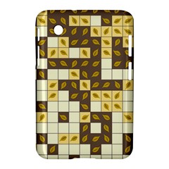 Autumn Leaves Pattern Samsung Galaxy Tab 2 (7 ) P3100 Hardshell Case