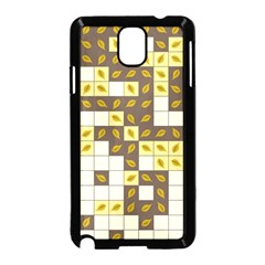 Autumn Leaves Pattern Samsung Galaxy Note 3 Neo Hardshell Case (black)