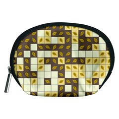 Autumn Leaves Pattern Accessory Pouches (medium)