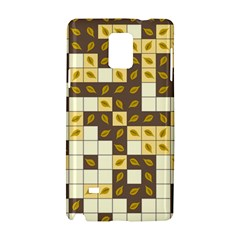 Autumn Leaves Pattern Samsung Galaxy Note 4 Hardshell Case