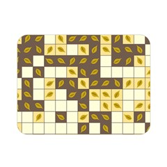 Autumn Leaves Pattern Double Sided Flano Blanket (mini)