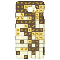 Autumn Leaves Pattern Samsung C9 Pro Hardshell Case