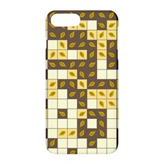 Autumn Leaves Pattern Apple Iphone 8 Plus Hardshell Case