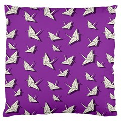 Paper Cranes Pattern Large Cushion Case (one Side)