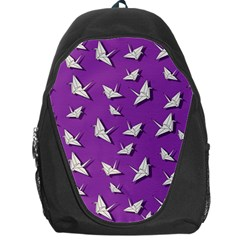Paper Cranes Pattern Backpack Bag