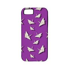 Paper Cranes Pattern Apple Iphone 5 Classic Hardshell Case (pc+silicone)