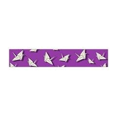 Paper Cranes Pattern Flano Scarf (mini)