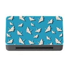Paper Cranes Pattern Memory Card Reader With Cf