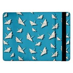 Paper Cranes Pattern Samsung Galaxy Tab Pro 12 2  Flip Case