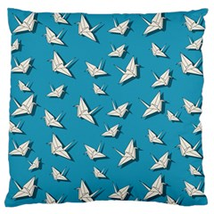 Paper Cranes Pattern Standard Flano Cushion Case (one Side)