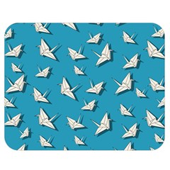 Paper Cranes Pattern Double Sided Flano Blanket (medium)