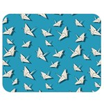 Paper cranes pattern Double Sided Flano Blanket (Medium)  60 x50 Blanket Front