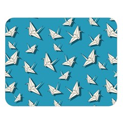 Paper Cranes Pattern Double Sided Flano Blanket (large)