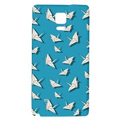 Paper Cranes Pattern Galaxy Note 4 Back Case