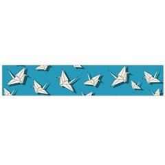 Paper Cranes Pattern Large Flano Scarf
