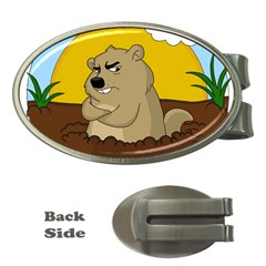 Groundhog Day Money Clips (oval)