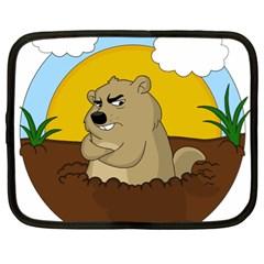 Groundhog Day Netbook Case (xl)