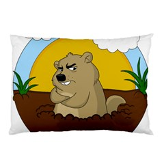 Groundhog Day Pillow Case (two Sides)
