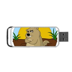Groundhog Day Portable Usb Flash (one Side)