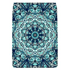 Green Blue Black Mandala  Psychedelic Pattern Flap Covers (l)