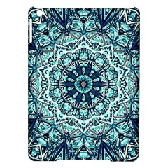 Green Blue Black Mandala  Psychedelic Pattern Ipad Air Hardshell Cases