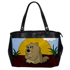 Groundhog Day Office Handbags