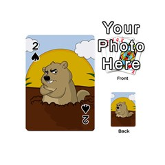Groundhog Day Playing Cards 54 (mini)