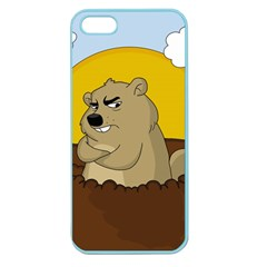 Groundhog Day Apple Seamless Iphone 5 Case (color)
