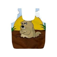 Groundhog Day Full Print Recycle Bags (s)