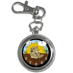 Groundhog Day Key Chain Watches