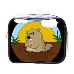 Groundhog Day Mini Toiletries Bags