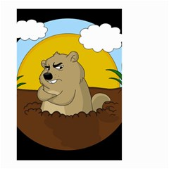 Groundhog Day Small Garden Flag (two Sides)