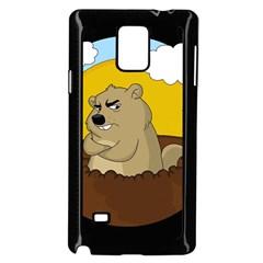 Groundhog Day Samsung Galaxy Note 4 Case (black)