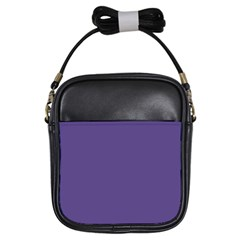 Color Of The Year 2018   Ultraviolet   Pure&basic Girls Sling Bags