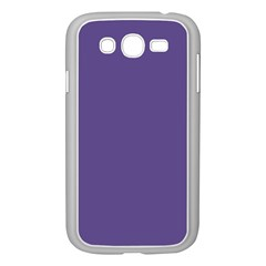 Color Of The Year 2018   Ultraviolet   Pure&basic Samsung Galaxy Grand Duos I9082 Case (white)