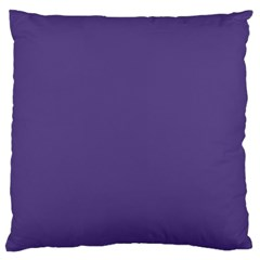 Color Of The Year 2018   Ultraviolet   Pure&basic Standard Flano Cushion Case (one Side)