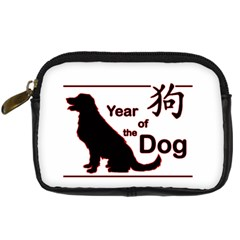 Year Of The Dog   Chinese New Year Digital Camera Cases