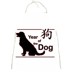 Year Of The Dog   Chinese New Year Full Print Aprons