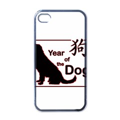 Year Of The Dog   Chinese New Year Apple Iphone 4 Case (black)