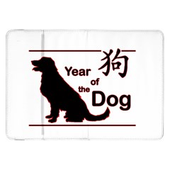 Year Of The Dog   Chinese New Year Samsung Galaxy Tab 8 9  P7300 Flip Case