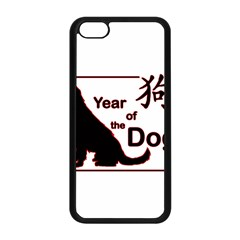 Year Of The Dog   Chinese New Year Apple Iphone 5c Seamless Case (black)